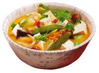 Thai Suppe mit Tofu