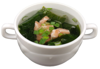Lachs Miso Suppe <sup>F</sup>